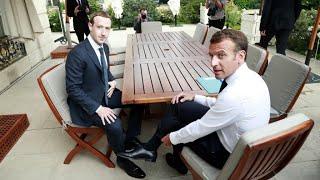 Facebook's Zuckerberg meets Macron amid pressure to curb misinformation, hate speech