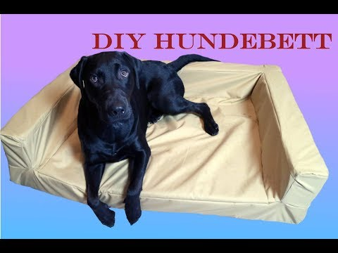 n hanleitung hundebett hundekissen diy selber n hen hun doovi. Black Bedroom Furniture Sets. Home Design Ideas