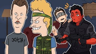 TEAMING UP WITH BEAVIS AND BUTTHEAD! | R6 Rainbow Six: Siege (w/ Ohmwrecker)