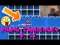 CRAZY STRAIGHT FLY!!! - PigPig Challenges P. 13 | Geometry Dash Challenges (PigPigGamer)