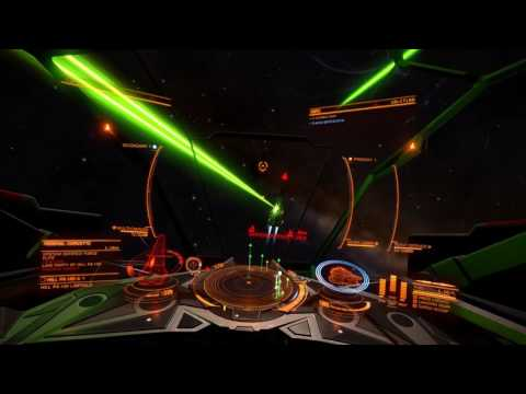 Elite Dangerous, Vulture CZ with efficient beam lasers