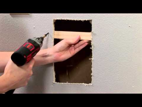 Housesmarts Diy We Re Patching A Hole In Drywall Episode 100