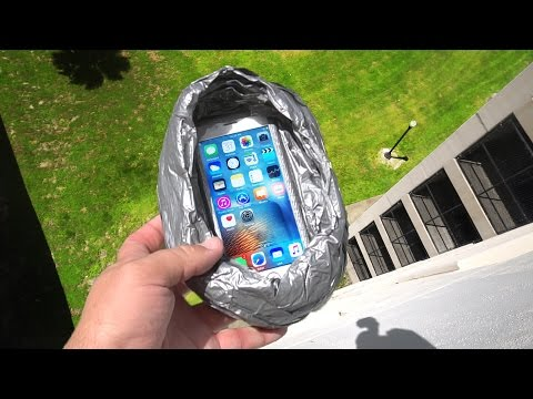 Can Duct Tape Protect iPhone 6s from 100 FT Drop Test? - GizmoSlip