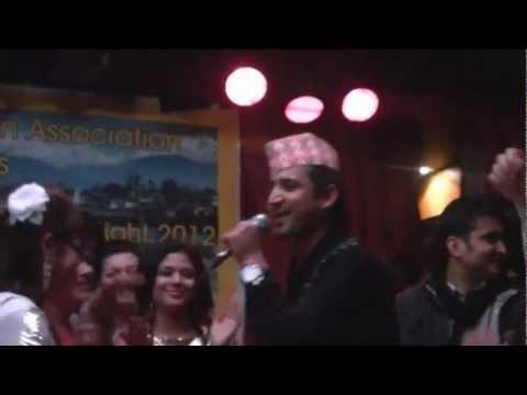 Ramchandra Kafle -Dhaulagiri Hawa Chalio Siriri  (very popular songs )  Part 5 Germany