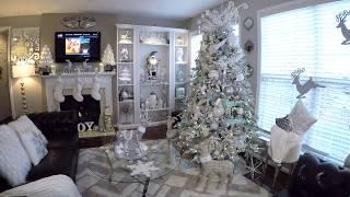 Christmas Home Tour 2017 | Winter Wonderland Decor ☃️🎄|Must See!!