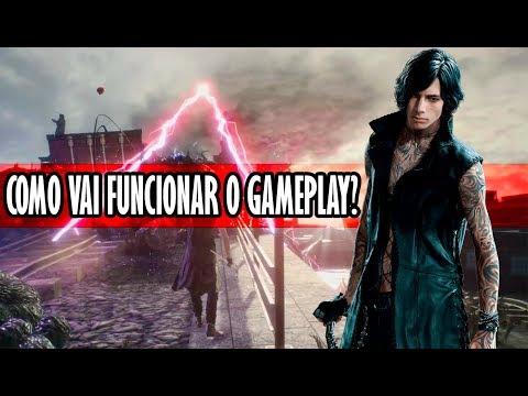 Revelados detalhes sobre o Gameplay do V | Devil May Cry 5