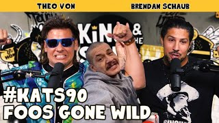 Foos Gone Wild ft. Doggface | King and the Sting w/ Theo Von & Brendan Schaub #90