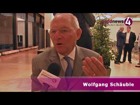 Wolfgang Schäuble im goodnews4-VIDEO-Interview - Appell an d