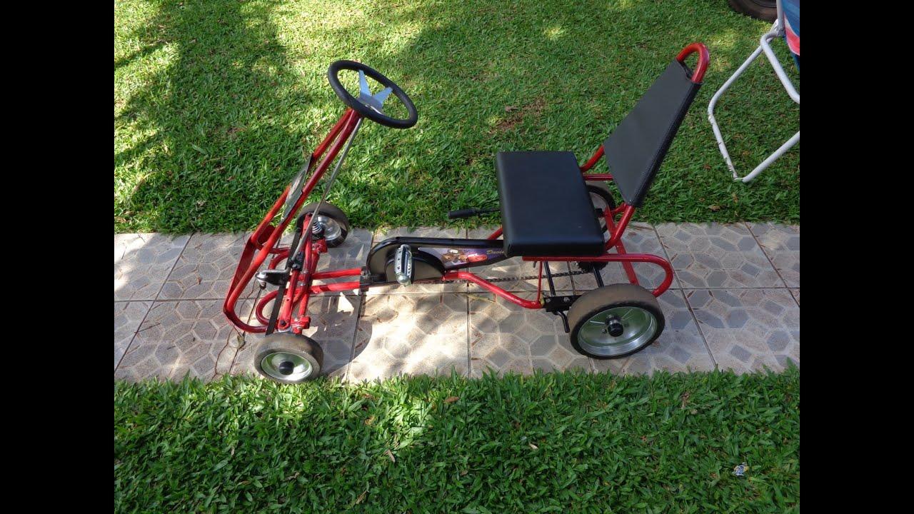 restaura o do pedal kart f rmula t youtube. Black Bedroom Furniture Sets. Home Design Ideas