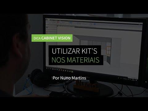 Dica 14 CABINET VISION | Utilizar kit's nos Materiais