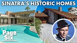 Frank Sinatra's historic homes: From NYC to Palm Desert | New York Post