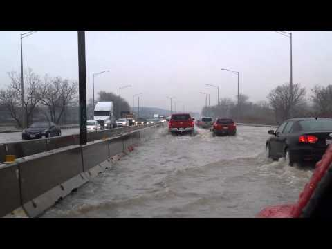 Chicago flood Interstate 90/94