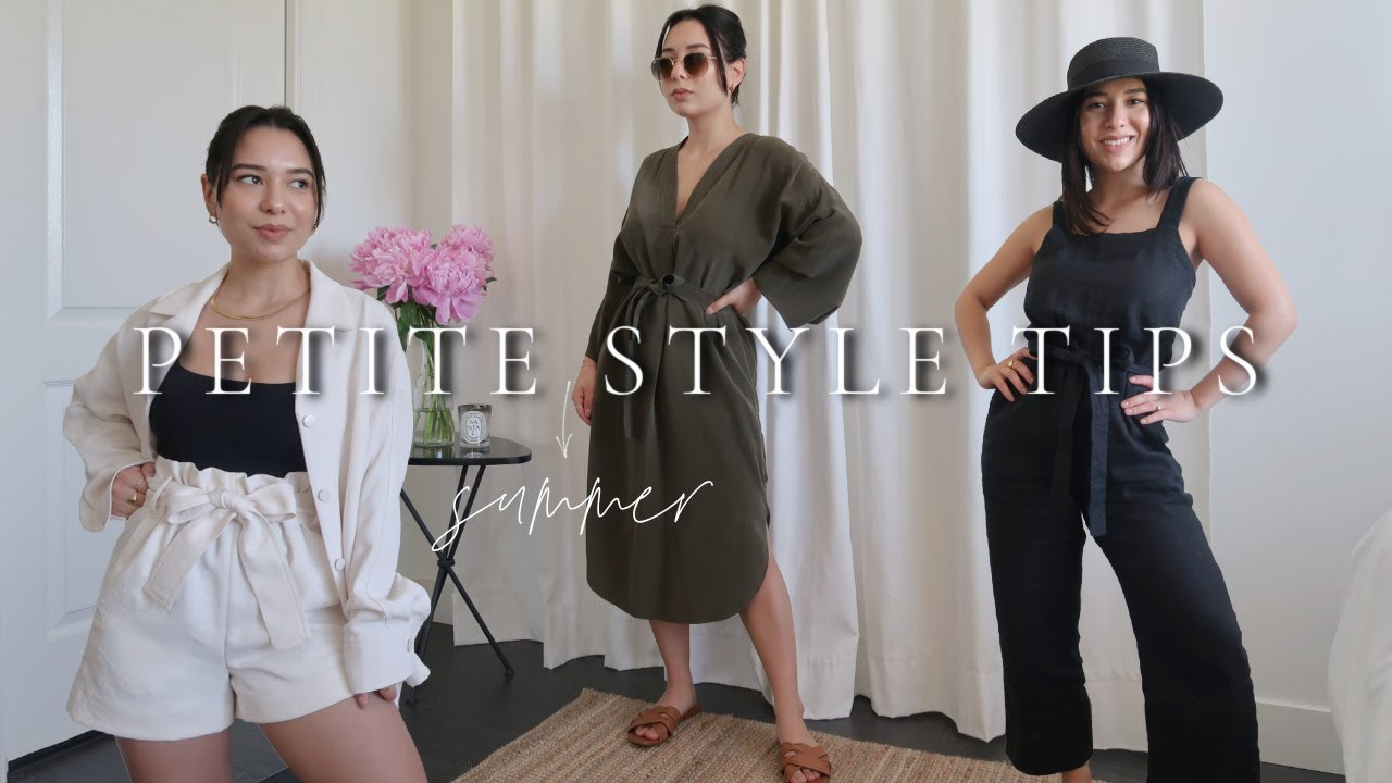 PETITE Style Tips for Summer: Best for 5ft and under! | Haley Estrada