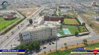 DHA Phase 6 Lahore F Block | Current Plot Prices | Lifestyle & Well Planned  Areas | Drone Video
