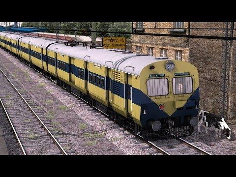 MEMU First Run | Chandigarh Jn to Ghaggar | in Train Simulator 2018