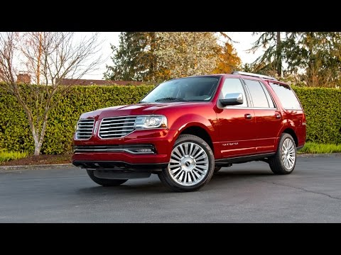 2015 lincoln navigator review old school yet still in the fight by autoacademics. Black Bedroom Furniture Sets. Home Design Ideas