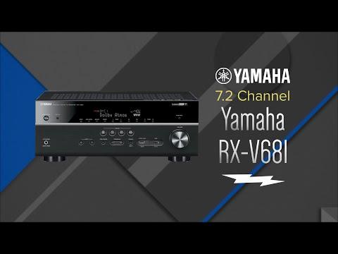 Yamaha 7.2 Channel Black Network A/V Receiver RX-V681 - Overview