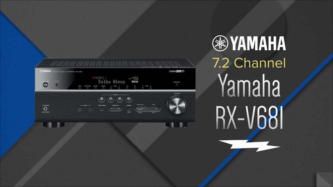 yamaha 7 2 channel black network a v receiver rx v681 overview youtube. Black Bedroom Furniture Sets. Home Design Ideas