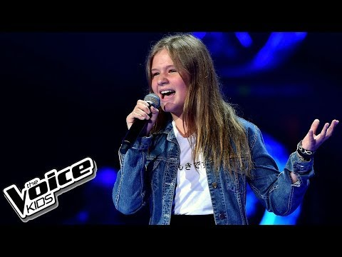 "Julia Jasińska – ""Only Girl"" – Przesłuchania w ciemno – The Voice Kids Poland"