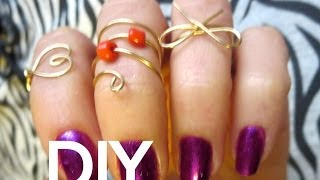 DIY Projects! 3 Mid Finger Rings Thumbnail