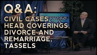 Q&A - Civil Cases, Head Coverings, Divorce, and Tassels - Discover the Truth (Classic TV Series)