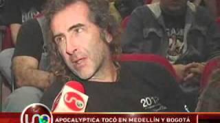 Apocalyptica tocó en Medellin y Bogotá