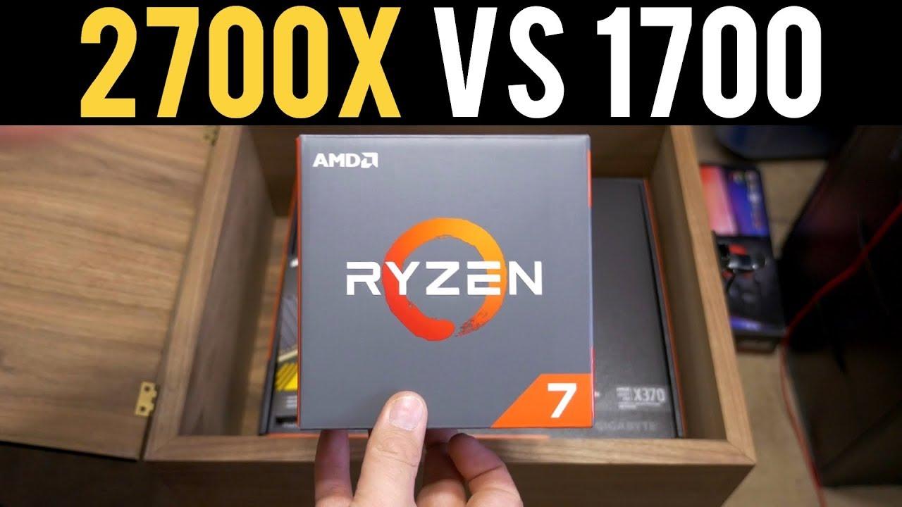 Ryzen 7 2700X vs Ryzen 1700 Benchmark | LEAK