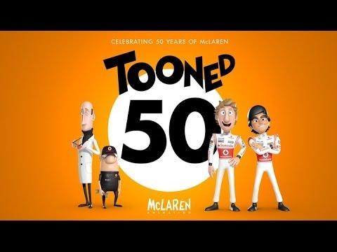 """McLaren - Full """"Tooned 50"""" plus specials"""