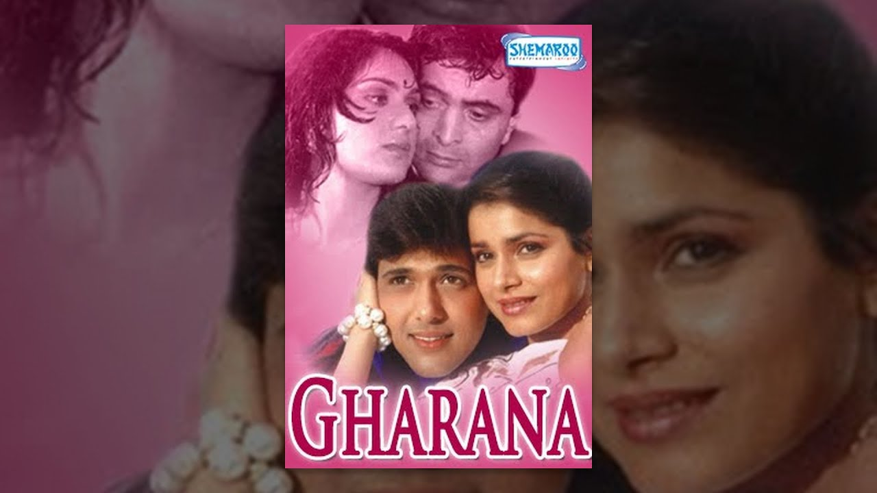 Gharana Hindi Full Movie Rishi Kapoor Govinda Jaya Prada