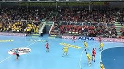 Die letzte Minute im 90. Derby HC Hard vs Bregenz Handball 28:28
