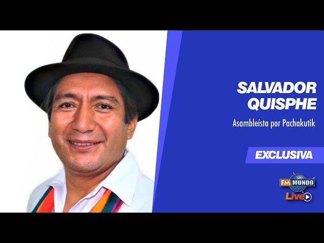 Detención del expresidente de la CONAIE Antonio Vargas, invitado #SalvadorQuisphe - NotiMundo