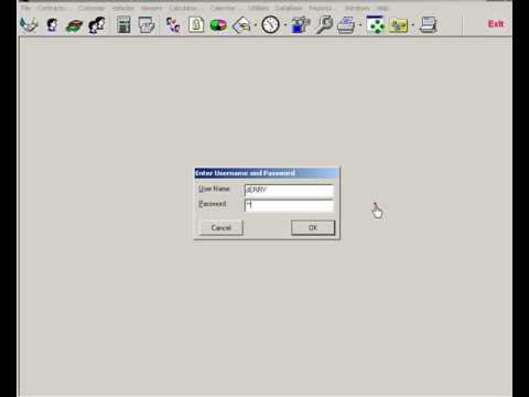 EzTraker Car Rental Reservation Software - Reset Contract Print Status