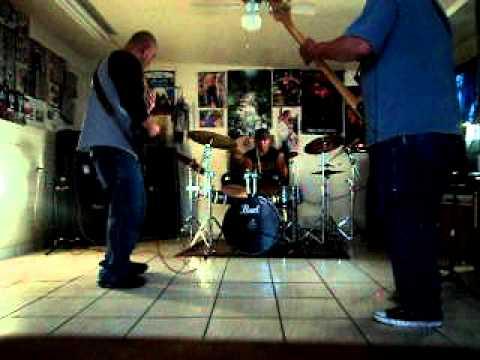 el paso tx. metal band rehearsal