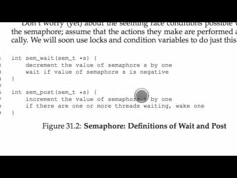 Intro To Computer Systems: Semaphores Explained