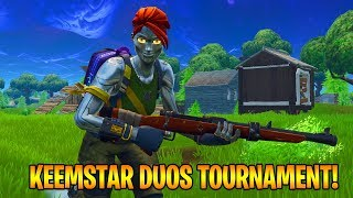$5,000 FORTNITE DUOS TOURNAMENT - SECOND PLACE FINISH! [Fortnite Battle Royale]