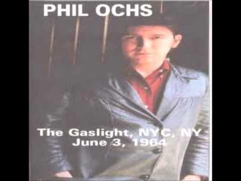 Phil Ochs - Celia (live)
