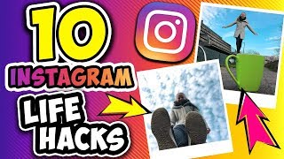 10 INSTAGRAM LIFE HACKS Kathis großer Foto Hacks Test Coole Fotos im Sommer, Herbst & Winter Look
