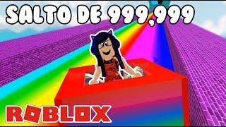 999,999 METERS JUMP IN ROBLOX Slide Down Roblox in Spanish