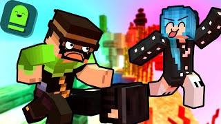 THE GREAT MINECRAFT PARKOUR RACE!