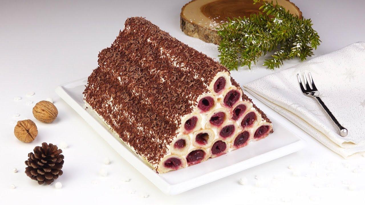 Kirsch Kuchen Mal Ganz Anders Mit Dieser Pyramide Bist Du Der Star