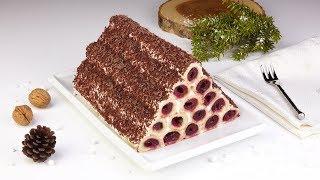 Kirsch Kuchen mal ganz anders - mit dieser Pyramide bist du der Star am Kuchenbuffet!