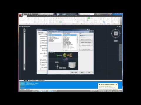 Autocad Tutorial; Quick Tip How to Change Background and Command Line Colors
