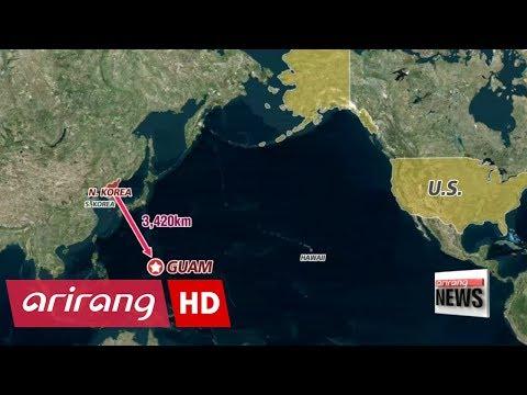 North Korea threatens ballistic missile strike near Guam to contain U.S. military assets