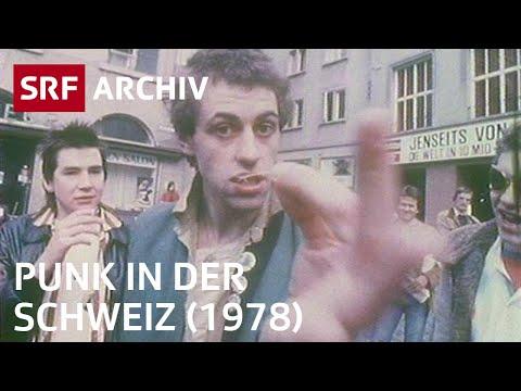 Punk in der Schweiz (1978) | SRF Archiv