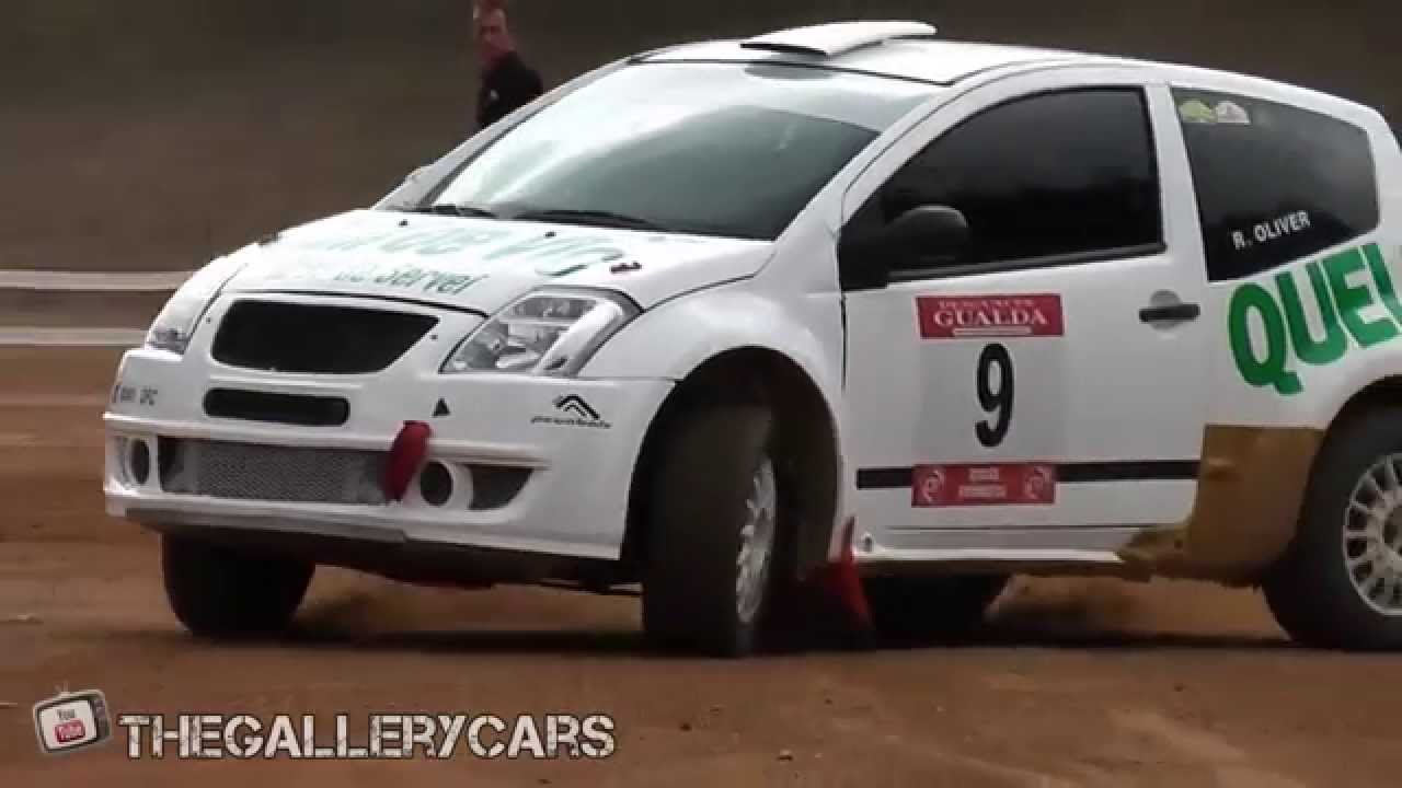 Citroen C2 Rally Car In Action With Pure Sounds Youtube