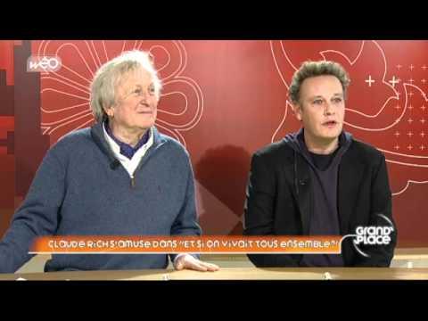 """Interview de Claude Rich et Stéphane Robelin pour le film """"E"""