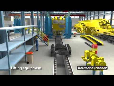 Deutsche Plasser   Range of services   Routine maintenance as an outsourcing partner