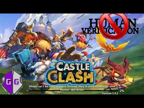 CARA HACK GOLD GAME CASTLE CLASH TANPA HUMAN VERIFICATION