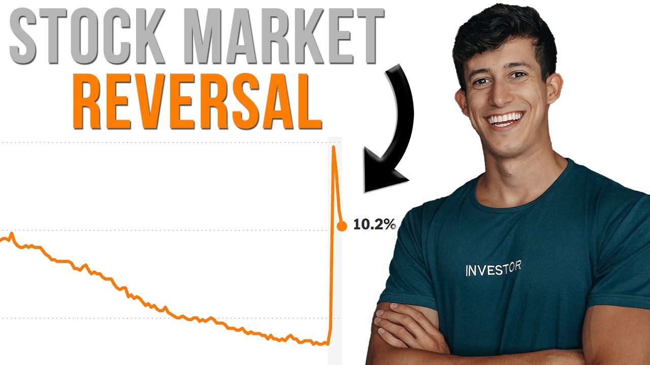⚠️ The Stock Market Broke Below EMA (REVERSAL WARNING)