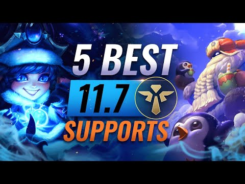 5 BEST Supports to ABUSE in Patch 11.7 – League of Legends